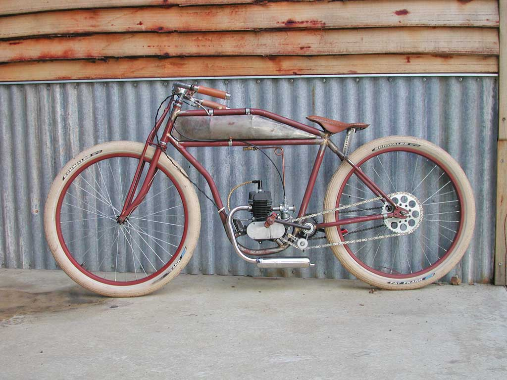 Post your motor and non motored boardtrack bikes page 5 Best frame for motorized bicycle